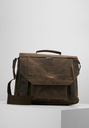 HUNTER BRIEFBAG - Laptop bag - dark brown