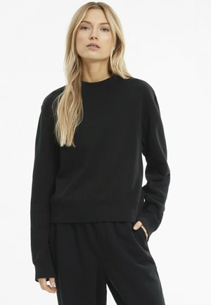 INFUSE KVINDE - Sweatshirt -  black
