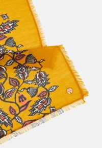 Esprit - FLOWER SCARF - Scarf - yellow