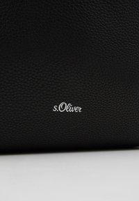 s.Oliver - Handbag - black - 6