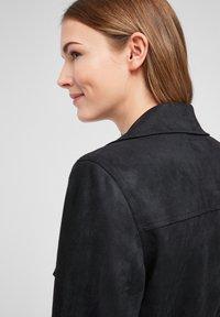QS by s.Oliver - Short coat - black - 5