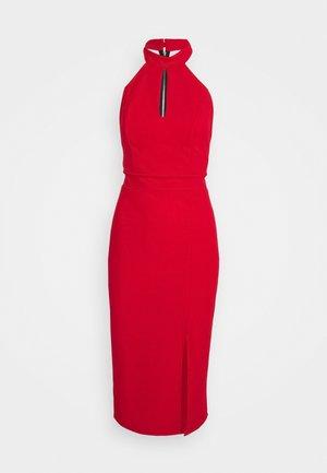 JAYNE LEE HALTER NECK DRESS - Cocktail dress / Party dress - red
