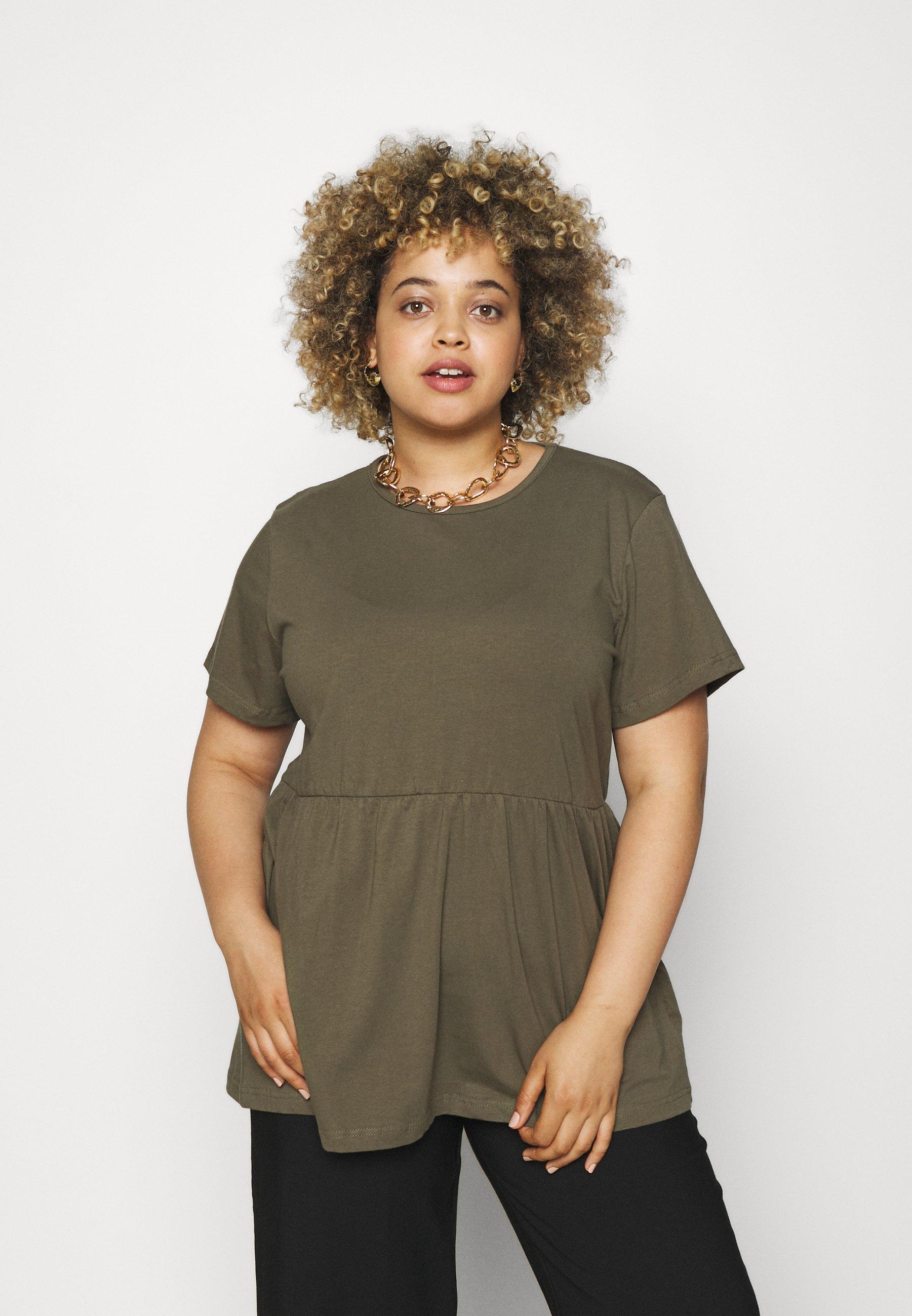 Women PLUS SMOCK - Print T-shirt