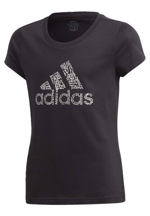BADGE OF SPORT T-SHIRT - T-shirt con stampa - black