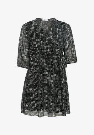 MIT BLUMEN-PRINT - Day dress - black