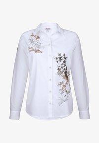 Alba Moda - Button-down blouse - weiß,beige - 5