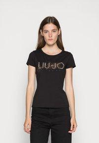 Liu Jo Jeans - T-shirt z nadrukiem - nero - 0