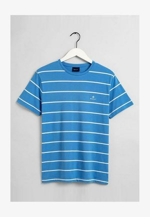 BRETON  - Print T-shirt - pacific blue