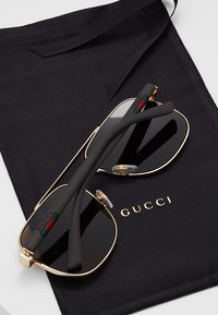 Gucci - Sonnenbrille - gold/brown - 5