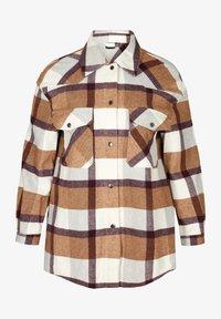 Zizzi - Light jacket - brown - 1