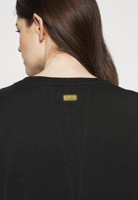Barbour International - GRID DRESS - Sukienka z dżerseju - black - 5