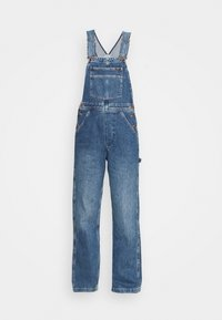 Wrangler - STRAIGHT BIB - Snekkerbukse - all star blue - 5