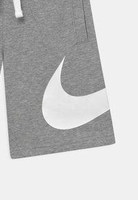 Nike Sportswear - Short - dark grey heather/white - 2