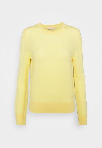 BLEND - Strikkegenser - jasmine yellow