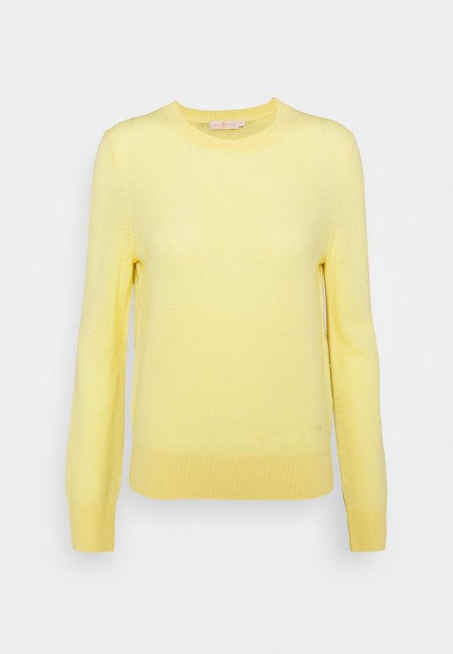 BLEND - Trui - jasmine yellow
