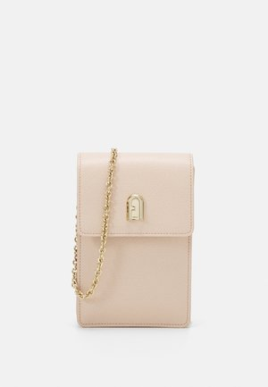 MINI VERTICAL CROSSBODY - Axelremsväska - light pink