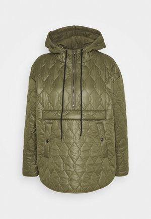 MINA QUILTED ANORAK - Light jacket - grape leaf