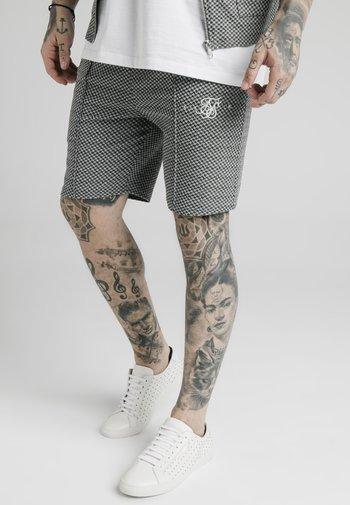 Shorts - black  white dogtooth