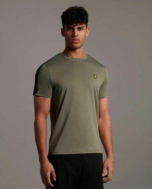 SLEEVE TAPE TEE - T-shirt basique - cactus green