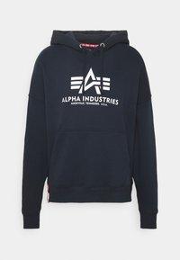 Alpha Industries - BASIC HOODY - Mikina - blue - 0