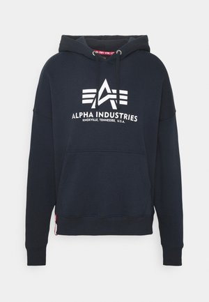 BASIC HOODY - Sweatshirt - blue