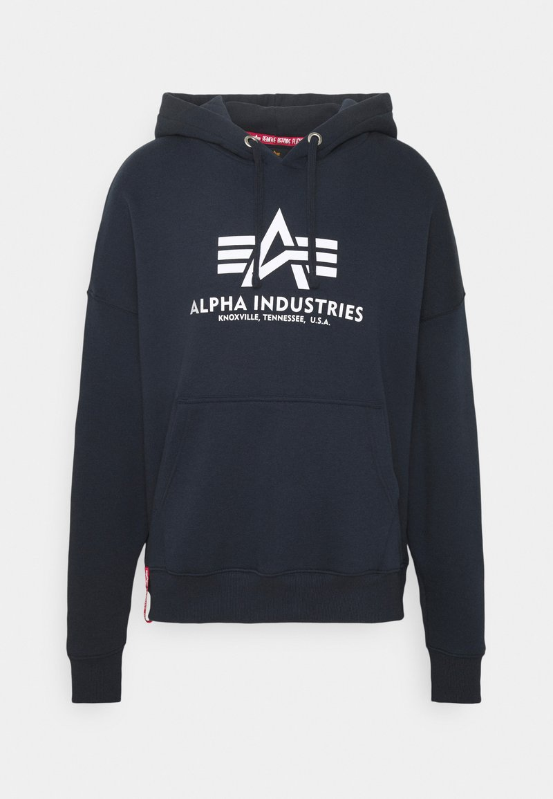 Alpha Industries - BASIC HOODY - Mikina - blue