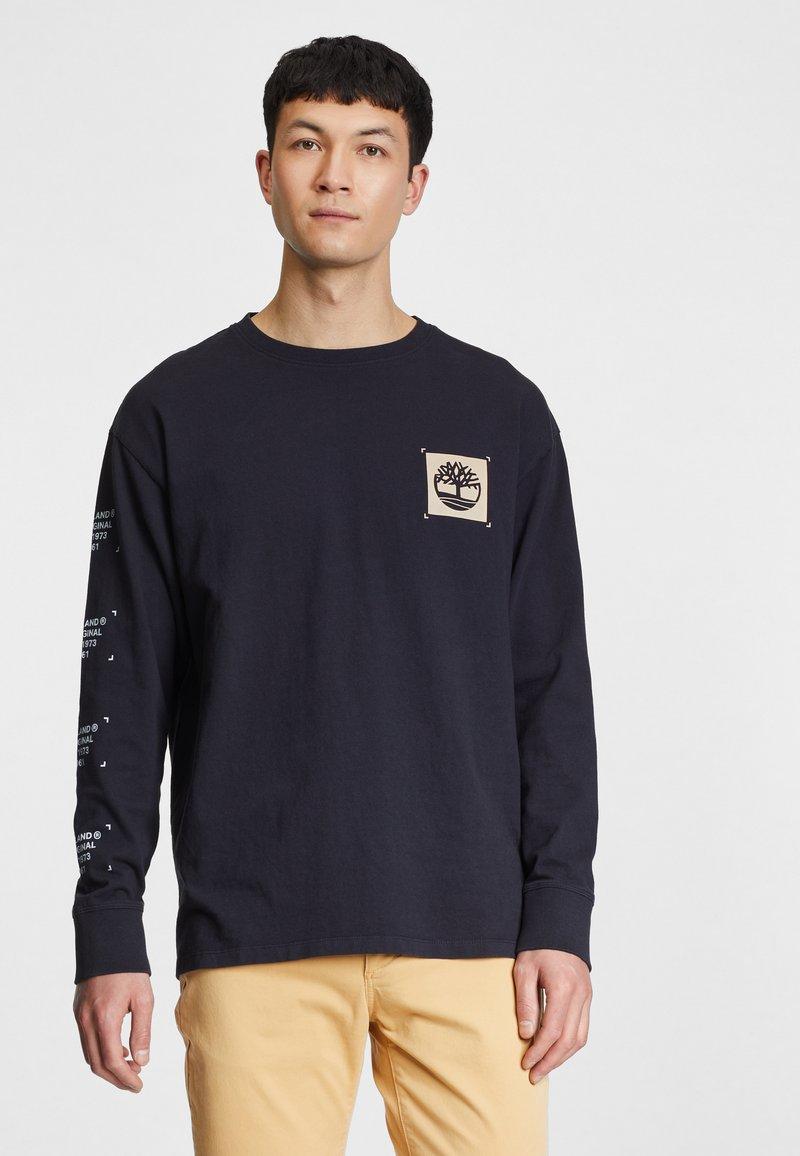 Timberland - Pitkähihainen paita - black