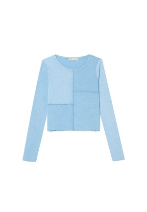 MIT PATCHWORK - Long sleeved top - blue