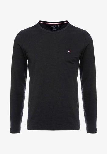 STRETCH LONG SLEEVE TEE - Maglietta a manica lunga - black