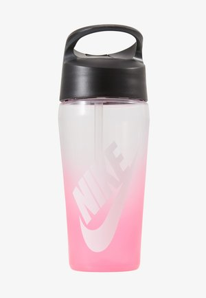 473ml HYPERCHARGE STRAW BOTTLE 16OZ - Drink bottle - digital pink/anthracite/white