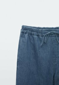 Massimo Dutti - Spodnie materiałowe - dark blue - 5