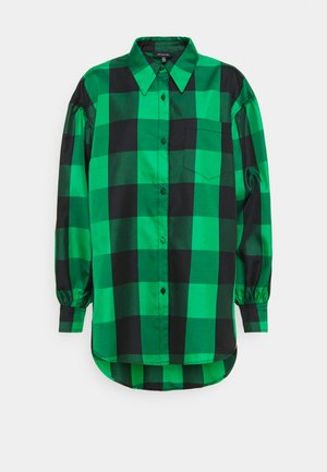 DROP PUFF SLEEVE - Button-down blouse - green