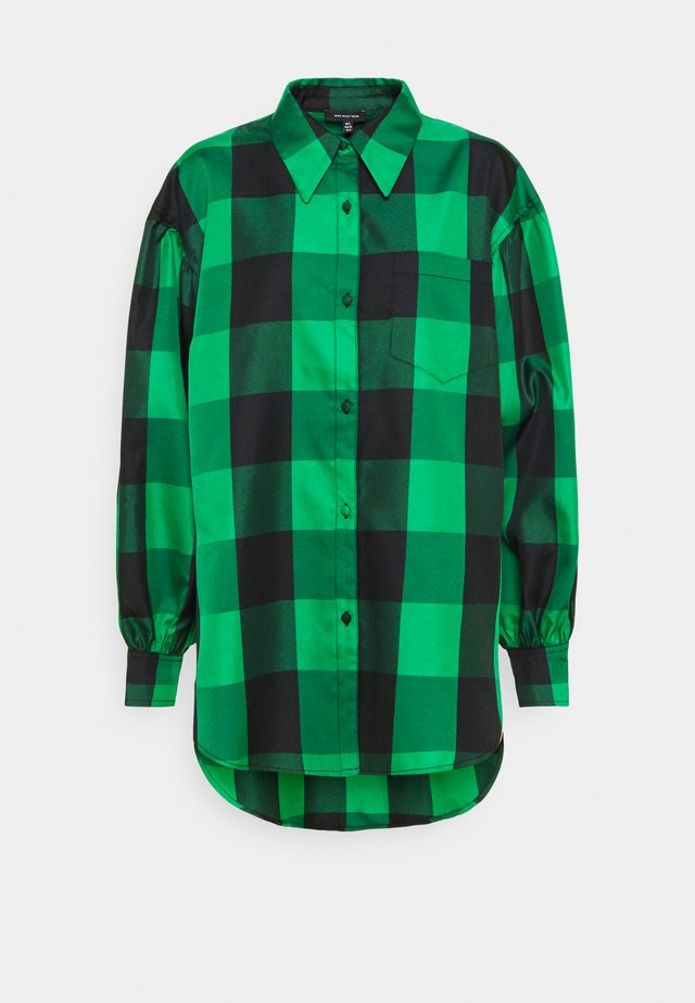 DROP PUFF SLEEVE - Košile - green
