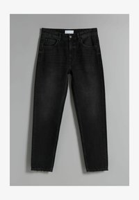 Bershka - STRAIGHT VINTAGE - Jeans relaxed fit - black - 4