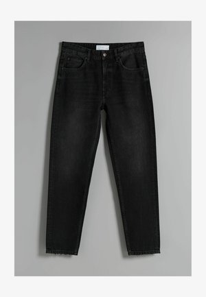 STRAIGHT VINTAGE - Relaxed fit jeans - black
