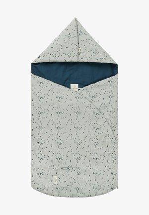 AUTOSITZ FUSSSACK BOTANICAL - Trappelzak - puritan gray