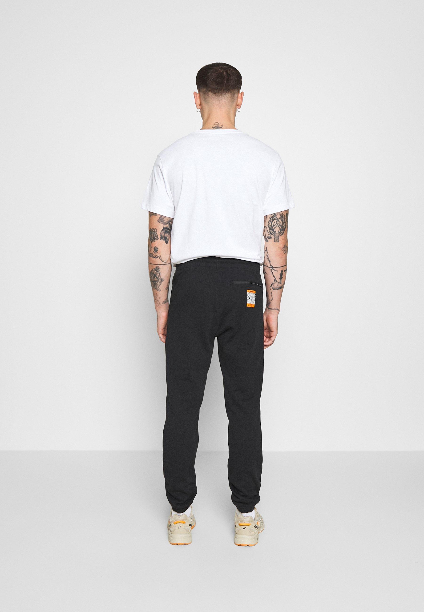 Adidas Originals Logo - Joggebukse Black/svart