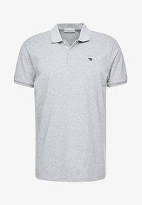 CLASSIC CLEAN - Polo shirt - grey melange