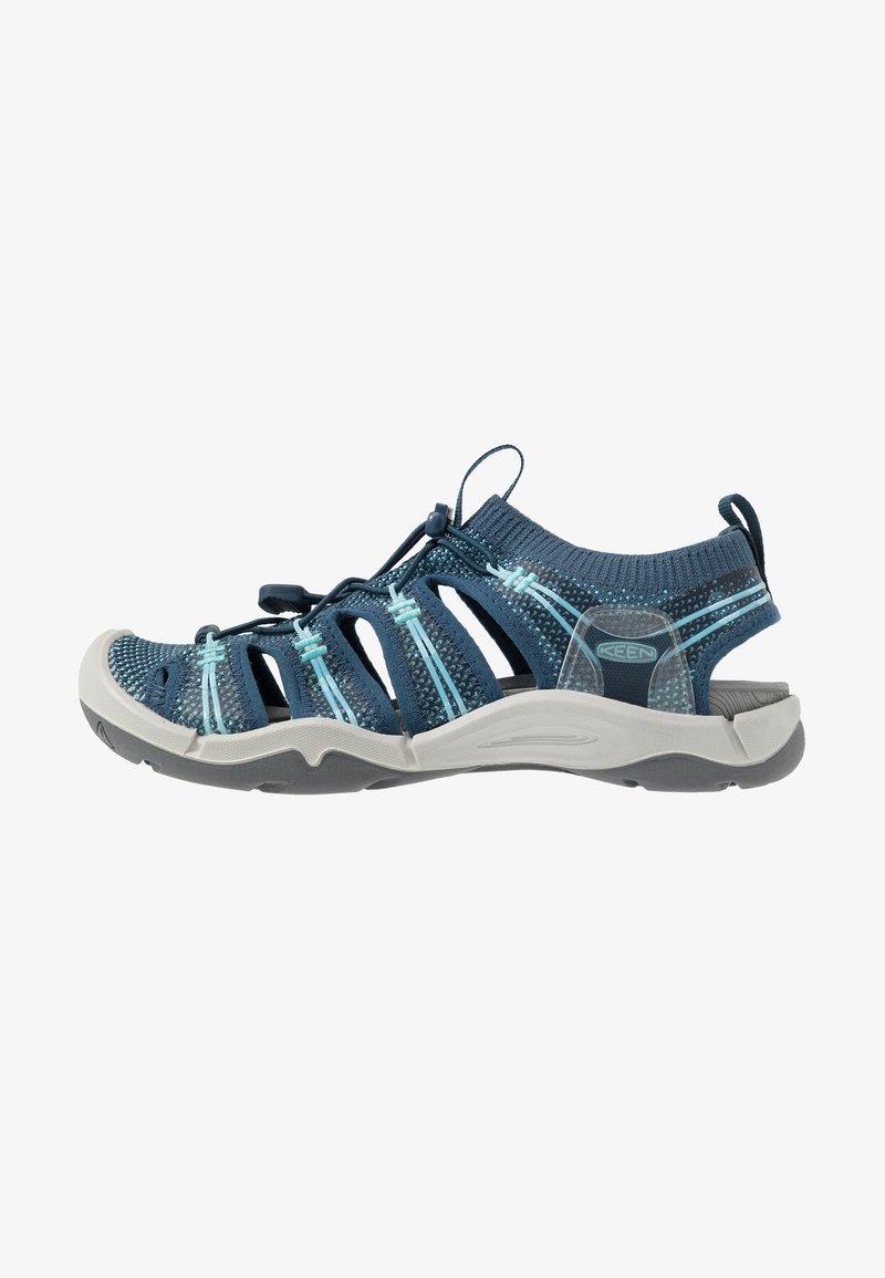 Keen - EVOFIT 1 - Walking sandals - navy/bright blue