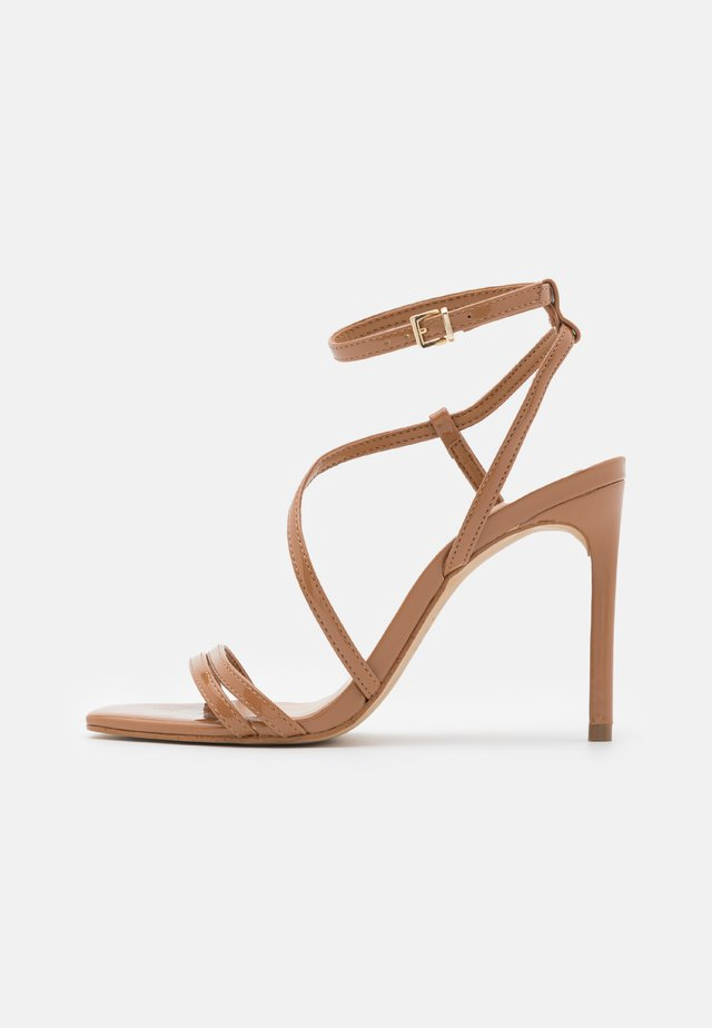 FRELIAN - High heeled sandals - bone