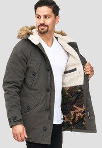 INDICODE JEANS - Winter coat - anthracite - 3