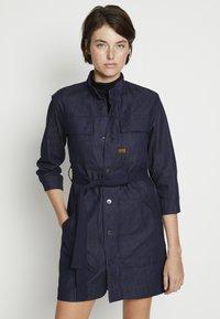 G-Star - SHIRT DRESS - Denim dress - raw denim - 0