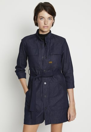 SHIRT DRESS - Vestido vaquero - raw denim