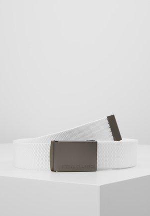 BELTS - Belte - white