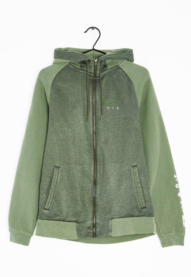veste en sweat zippée - green