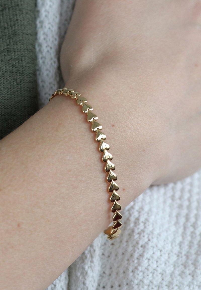 Lucardi - HART  - Armband - goud