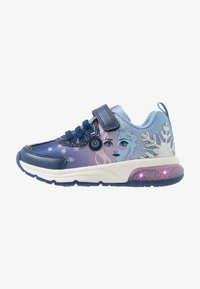 Geox - SPACECLUB GIRL FROZEN ELSA - Trainers - navy/lilac - 0
