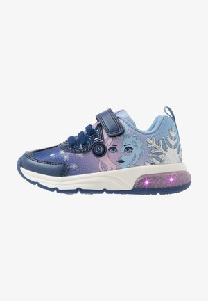 SPACECLUB GIRL FROZEN ELSA - Sneakers basse - navy/lilac