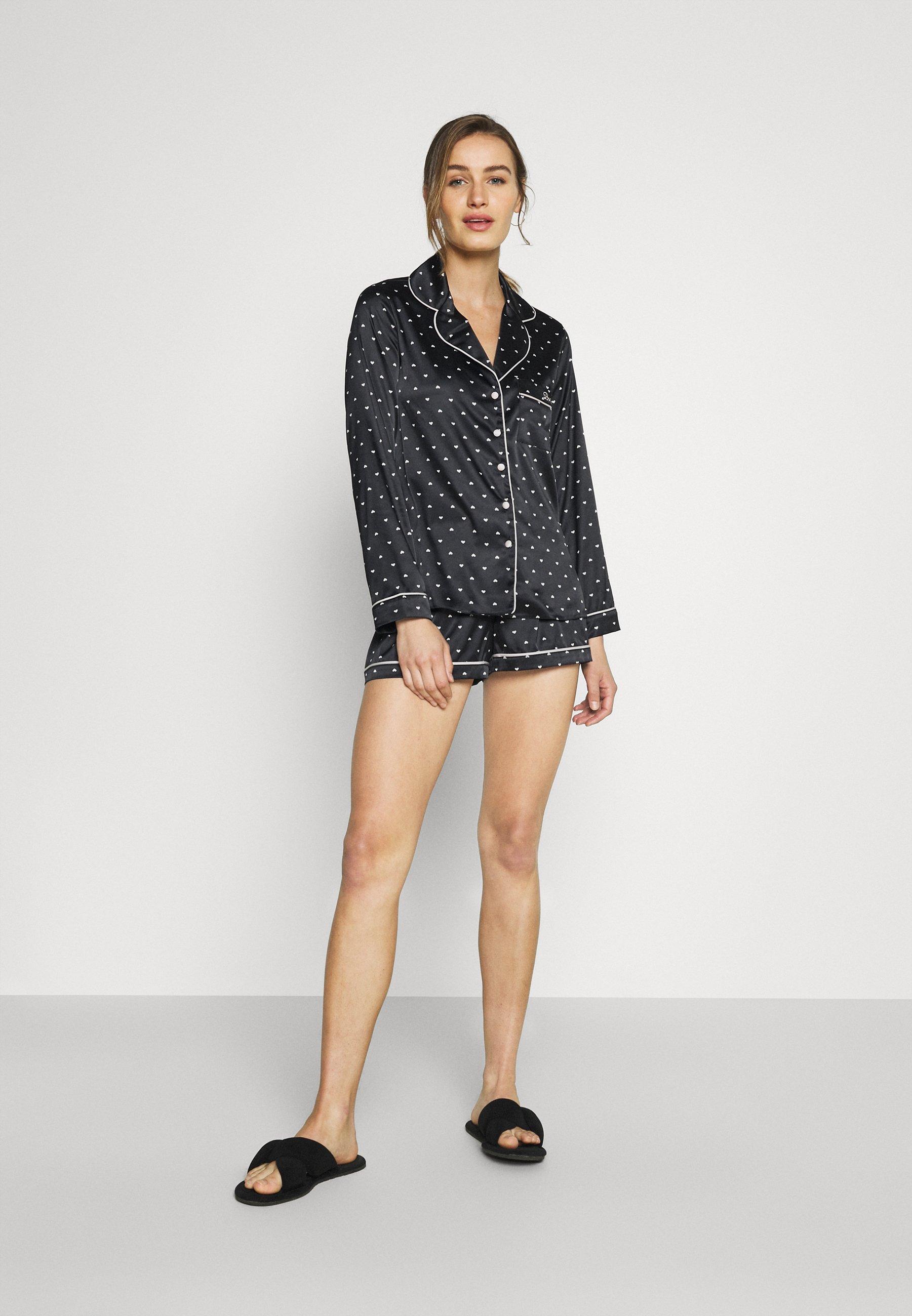 Damer MINI HEART REVERE SHORT - Pyjamaser