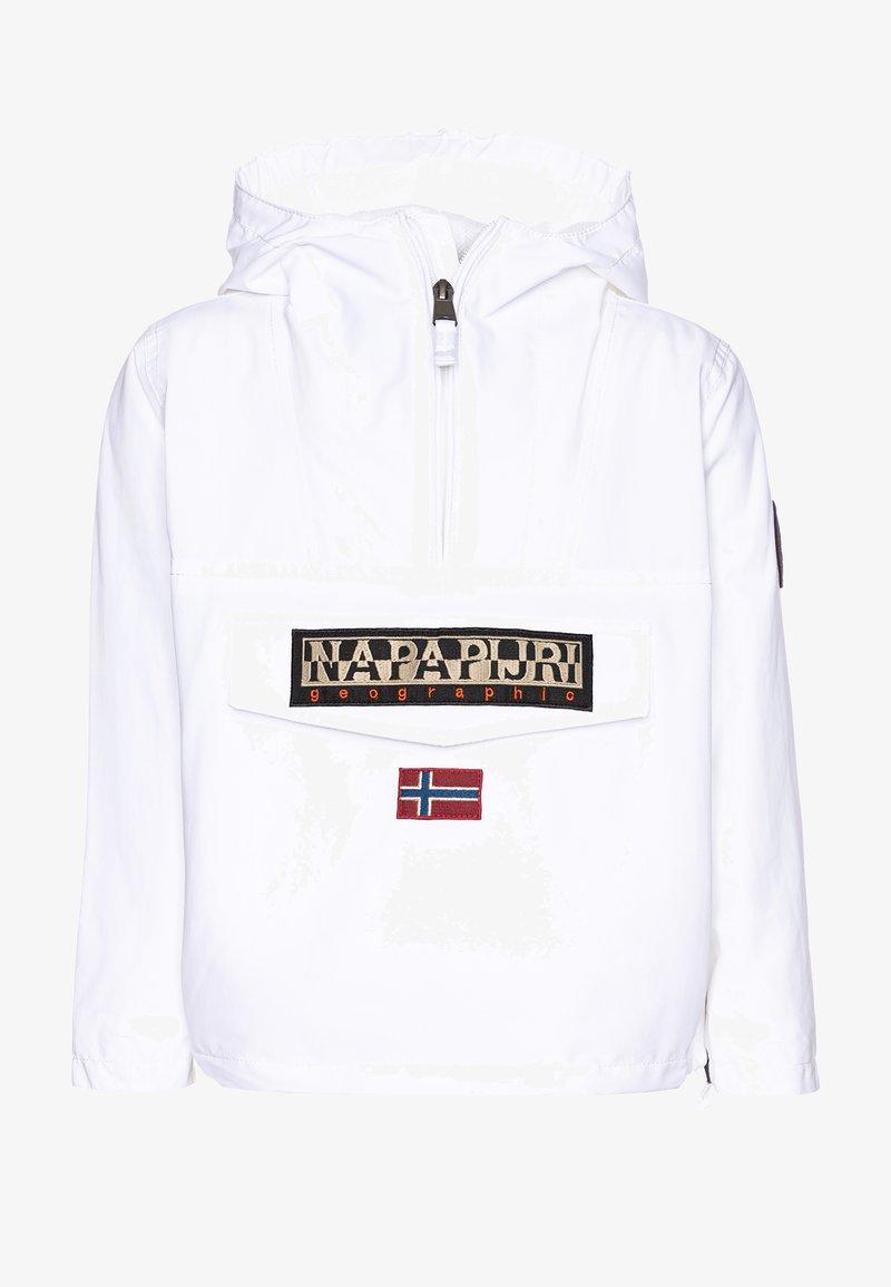 Napapijri - RAINFOREST SUMMER - Waterproof jacket - bright white
